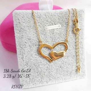 18k Saudi Gold Necklaces
