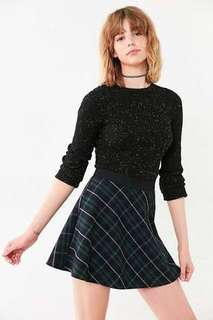 Brand New BDG by Urban Outfitters Blue Green Plaid Skirt