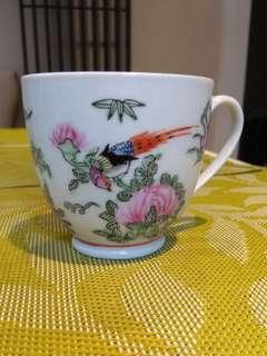 中國廣彩小茶杯