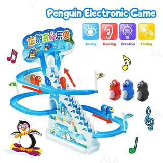 Peguin music race electronic for kids
