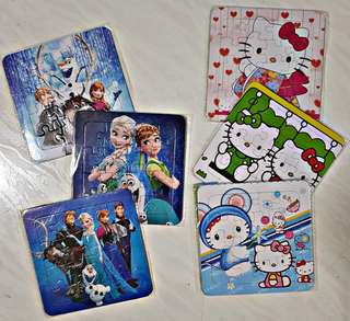 Cartoon Puzzle for your Children - Goodie Bag