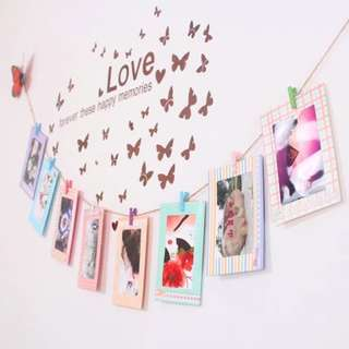 🚚 *Clearance* Colourful Hanging Photo Frame