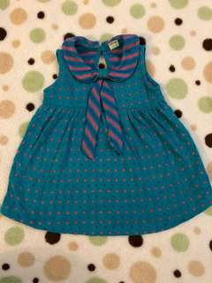 Pigeon baby dress size 12/18