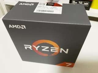 🚚 全新未拆封 Whole New AMD RYZEN R7 1700X CPU