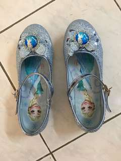 Frozen Elsa blink shoes