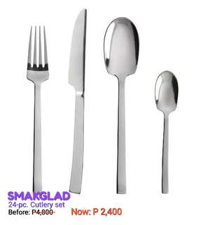 24-pc Cutlery set