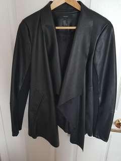 Faux Leather Jacket Size M