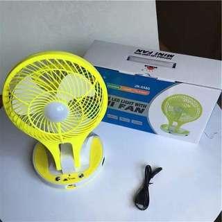Mini Portable Fan with LED