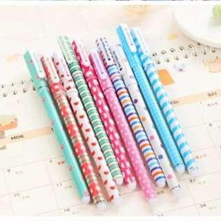 🚚 Set of 10 Colour Pens
