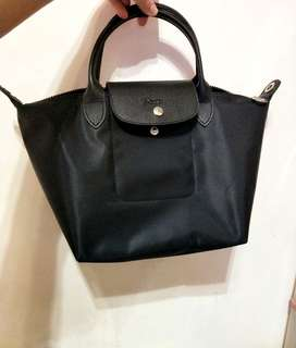 Longchamp neo 小號黑色