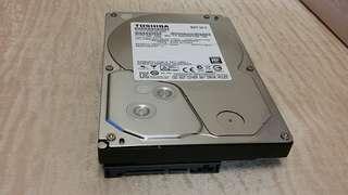 TOSHIBA 3T HARDDISK 東芝 3T 硬盤