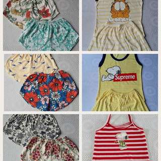 SALE! Assorted shorts and ternos for baby