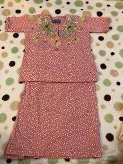 Baju Kurung Cotton size 1