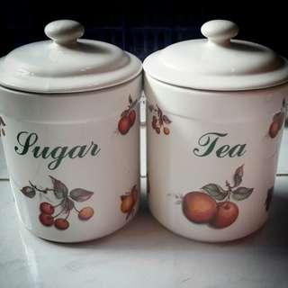 Tempat teh & gula
