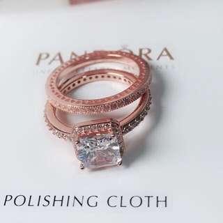 Pandora Double Elegance Ring