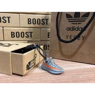 [FutureStore]❗️少量現貨❗️ Adidas yeezy boost 350 v2 灰橘 吊飾