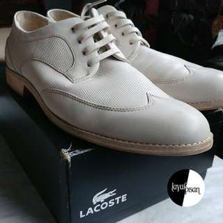 Lacoste Shoes CLM Leather (Off White)