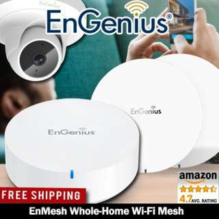PC SHOW PROMO ENGENIUS EnMesh Whole-Home Wi-Fi Mesh System. Local 3 Years Warranty!
