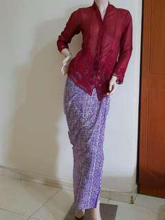 Set Baju Kebaya
