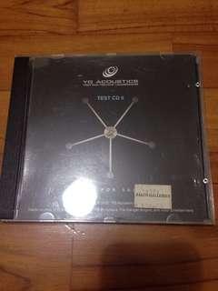YG Acoustics Audiophile Test CD