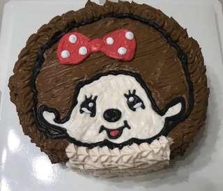 Monchichi 蒙奇奇蛋糕 一磅
