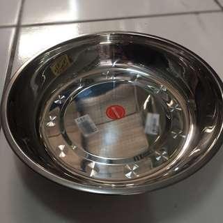 Tempat makan kucing/anjing stainless steel