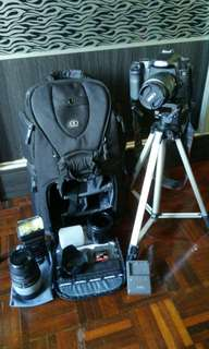 CANON 40D DSLR Photographer Pacakge (used)