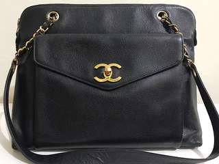 Authentic VINTAGE CHANEL HANDBAG! Must Go!