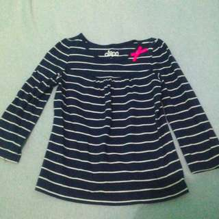 Long Sleeves Top with Pink Bow