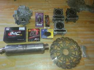 Racing Parts Yamaha 135LC