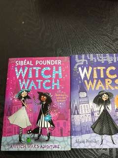 Witch Wars (book 1) & Witch Watch (Book 3) by Sibéal Pounder