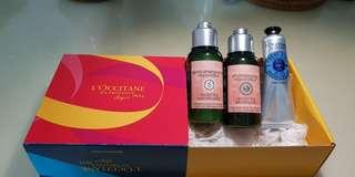 BNIB L'Occitane En Provence Repairing Shampoo+Conditioner+Hand Cream