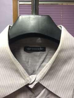 Docker's long sleeves