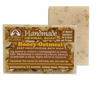 HANDMADE HONEY-OATMEAL Deep Moisturizing Bath Soap
