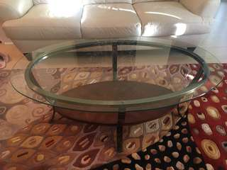 Coffee Table - Glass Top
