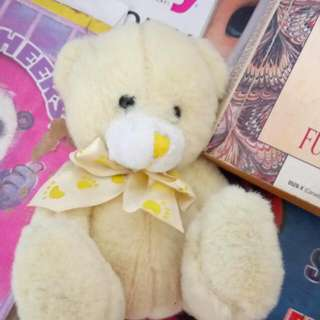 Small Yellow Teddy Bear