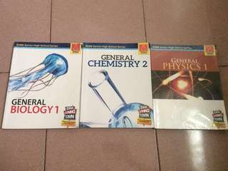SHS SCIENCE BOOK BUNDLES!