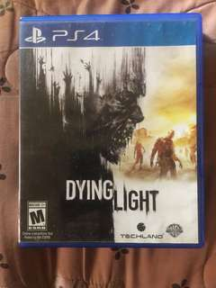 Dying light ps4 game