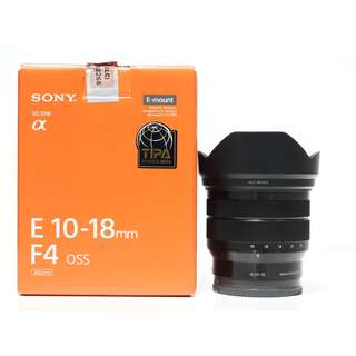 Sony E 10-18mm F4 OSS Lens (99% Like New, Still Under 6 Months Warranty)