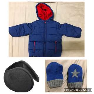 Mothercare Baby Winter Jacket 9-12m