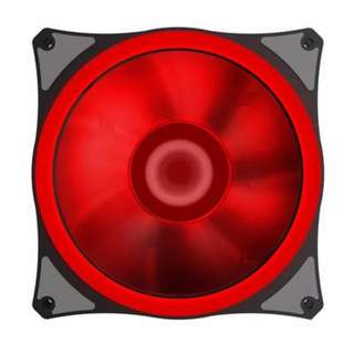 🚚 12cm 120mm RED LED Fan Cooling Gamemax GMX-EF12-R