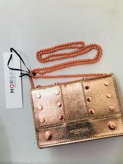 Morgan Rosegold handbag