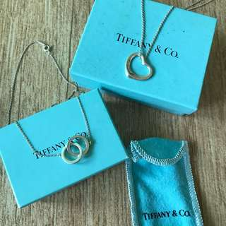 TIFFANY & co necklaces - preowned