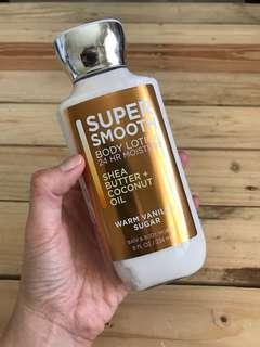 Bath and Body Warm Vanilla Sugar