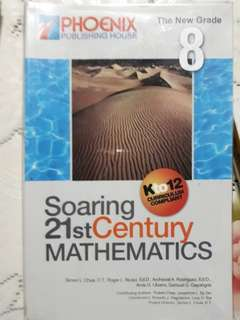 Grade 8 MATH textbook - Soaring 21st Century Mathematics Kto12, gr.8 edition