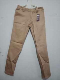 Celana panjang semi formal kerja bahan strecth chinos