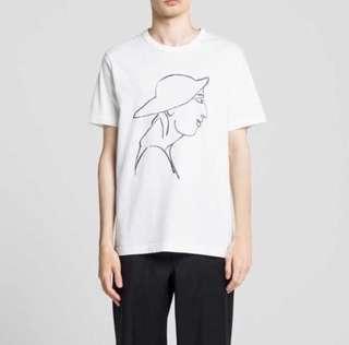 🚚 Uniqlo j.w.anderson 短袖 手繪 T恤M