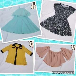 Repriced Dress, tops, blouses bundle!