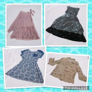 Repriced Dresses and blouses bundle!