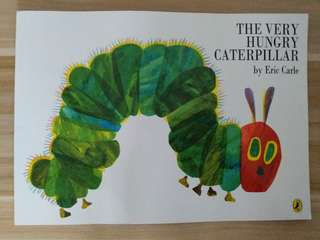 New The Very Hungry Caterpillar A4 size